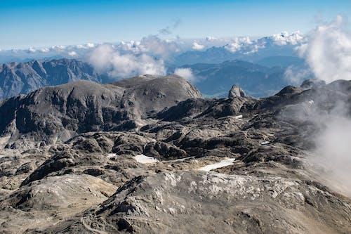 Foto d'estoc gratuïta de alps, altura, cel, cels blaus