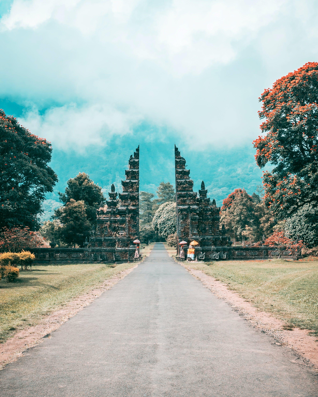 Gratis lagerfoto af arkitektur, Bali, bjerg, by