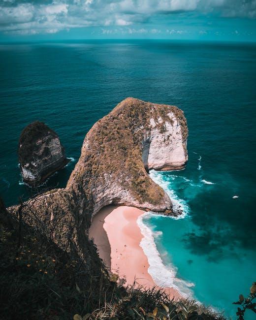 Scenic photo of an island
