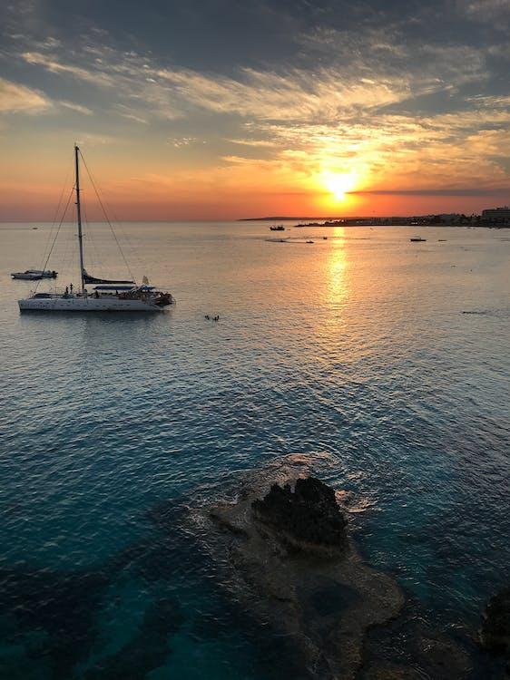 krajina pri mori, loď, more