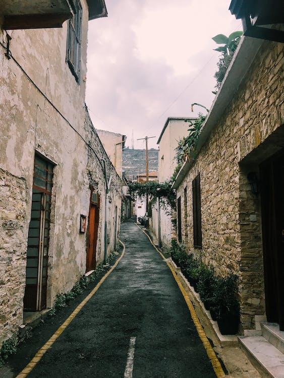 architektúra, cesta, chodník