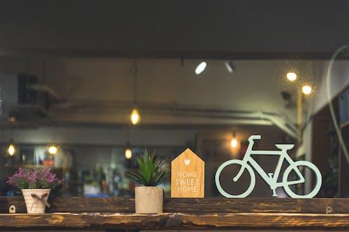 ahşap, bitkiler, dizayn, iç içeren Ücretsiz stok fotoğraf