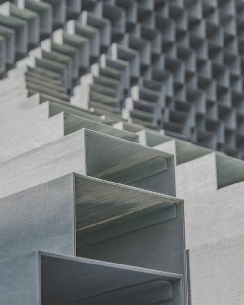 Foto profissional grátis de abstrair, aço, amontoado, ao ar livre