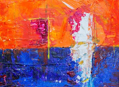 Fotobanka sbezplatnými fotkami na tému abstraktná maľba, abstraktný expresionizmus, akrylová farba, chaotický