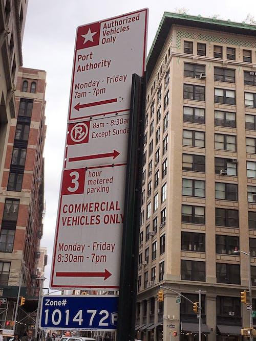 Kostenloses Stock Foto zu nyc, parken