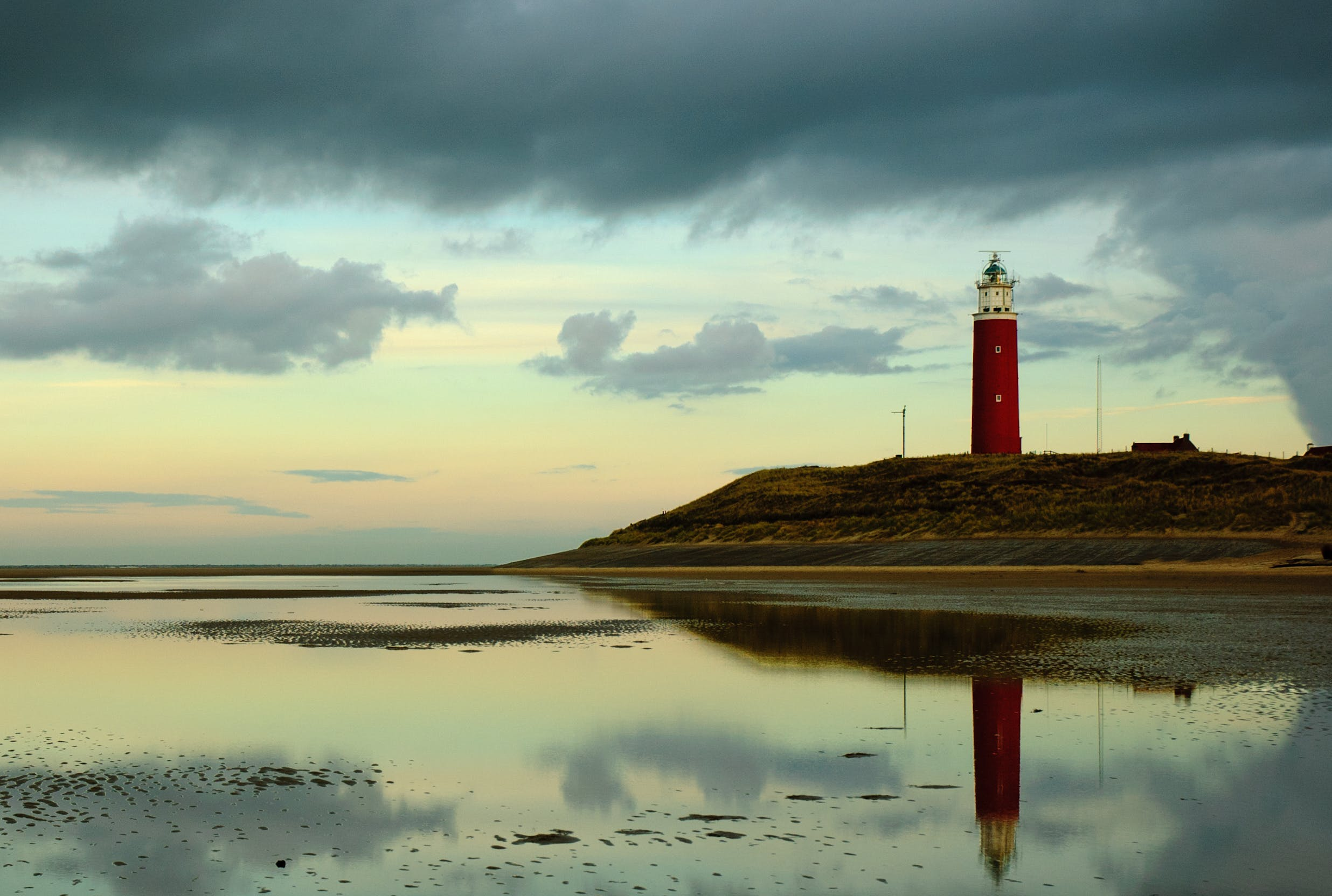 Free stock photo of dusk, lighthouse, Texel