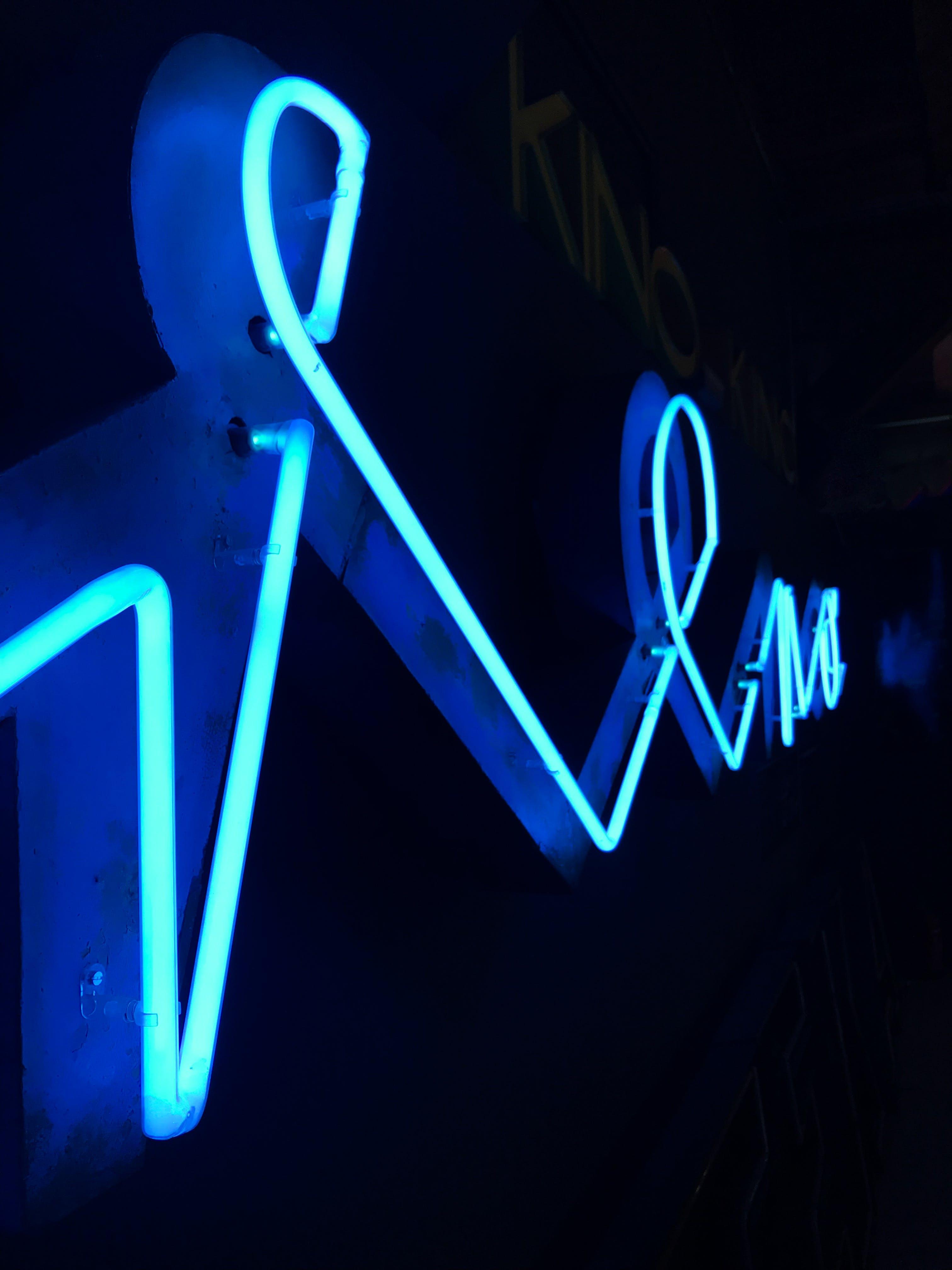 Free stock photo of blue, neon, neon lights, Neon muzeum