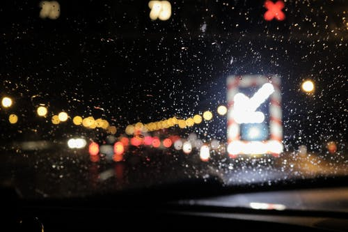 Bokeh Photography of Windshield
