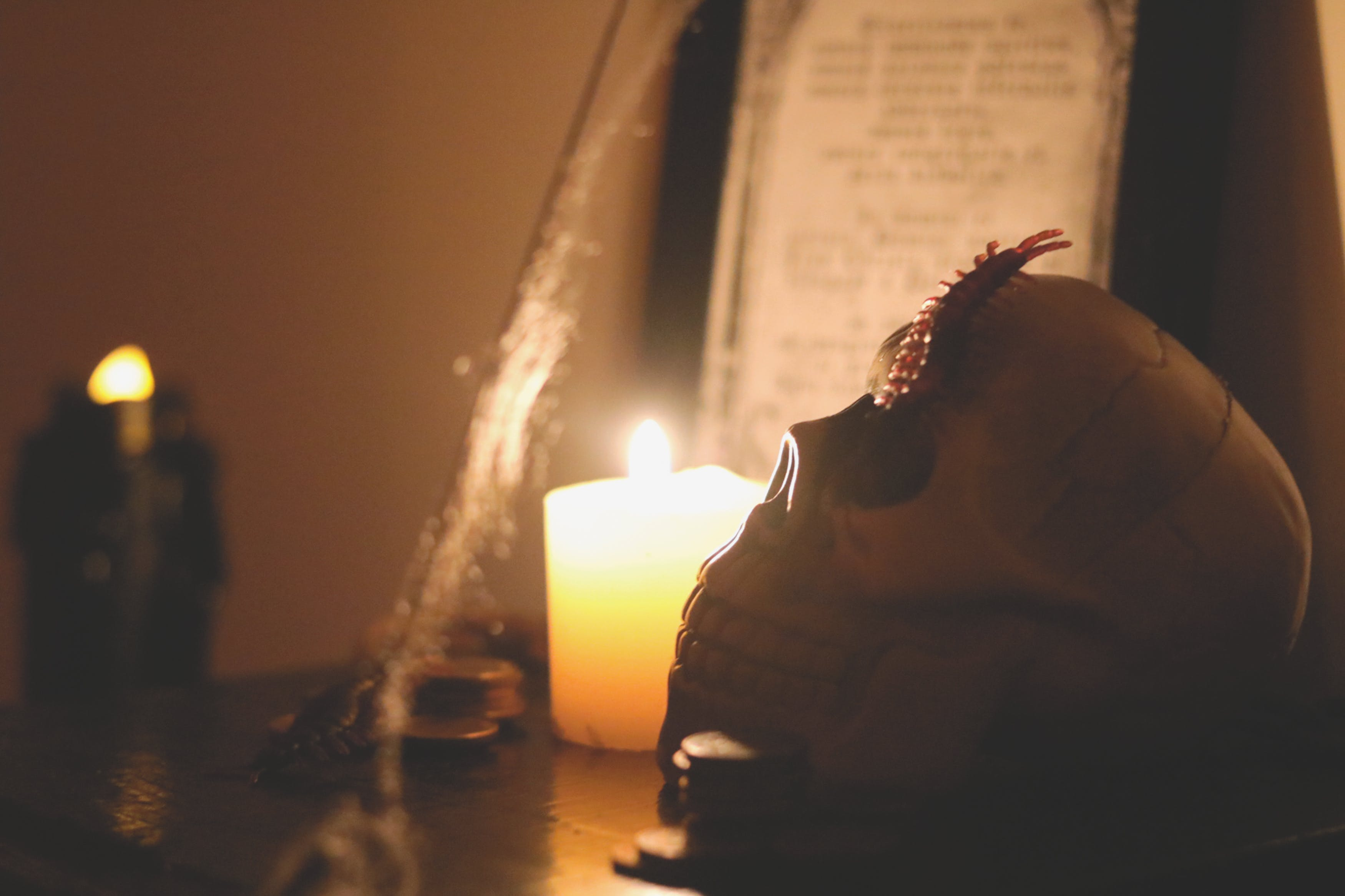 Free stock photo of candle light, candles, halloween, halloween party