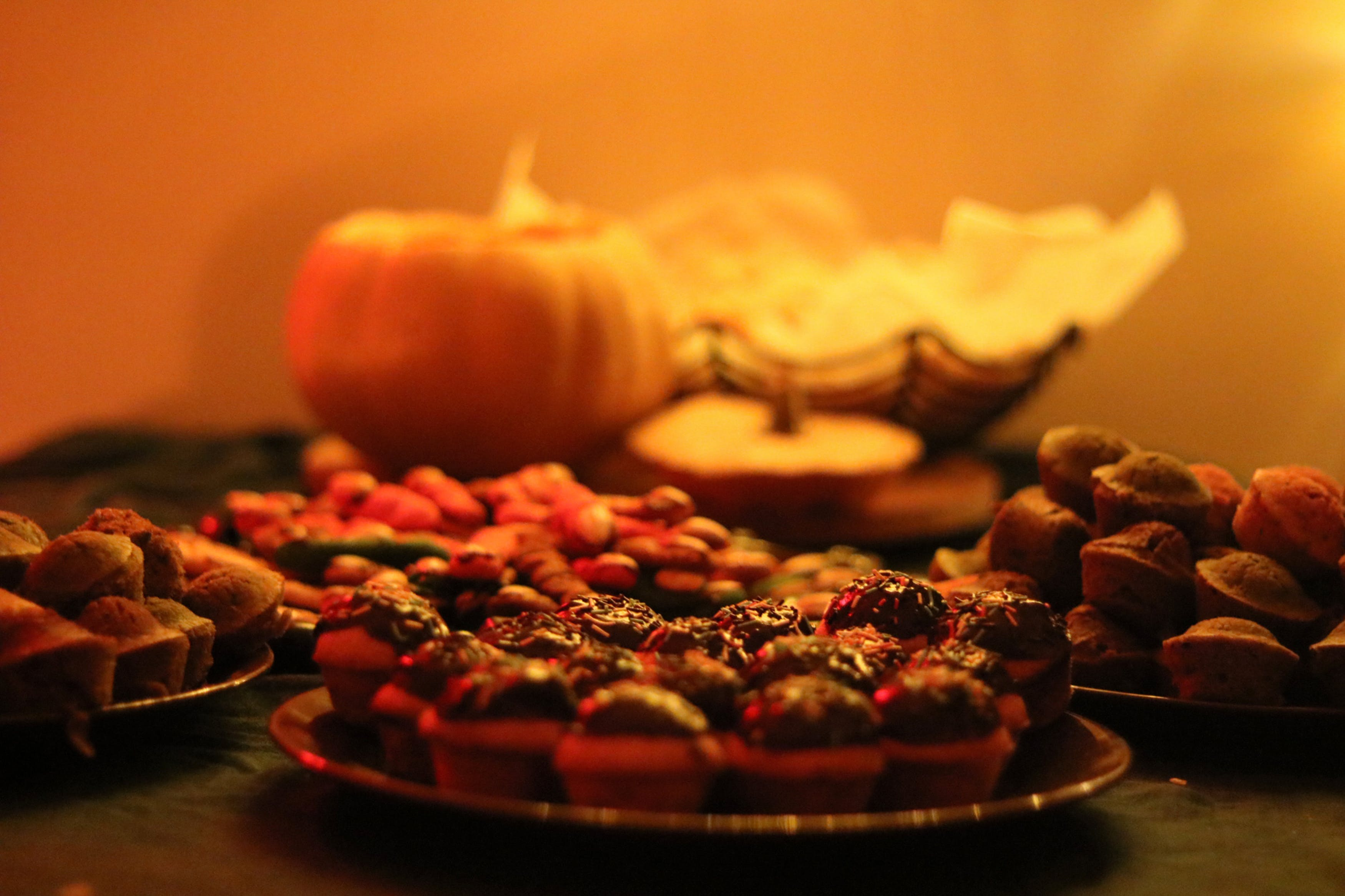 Free stock photo of candies, dinner, halloween, halloween candy