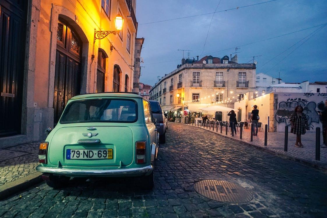 автомобиль, архитектура, город