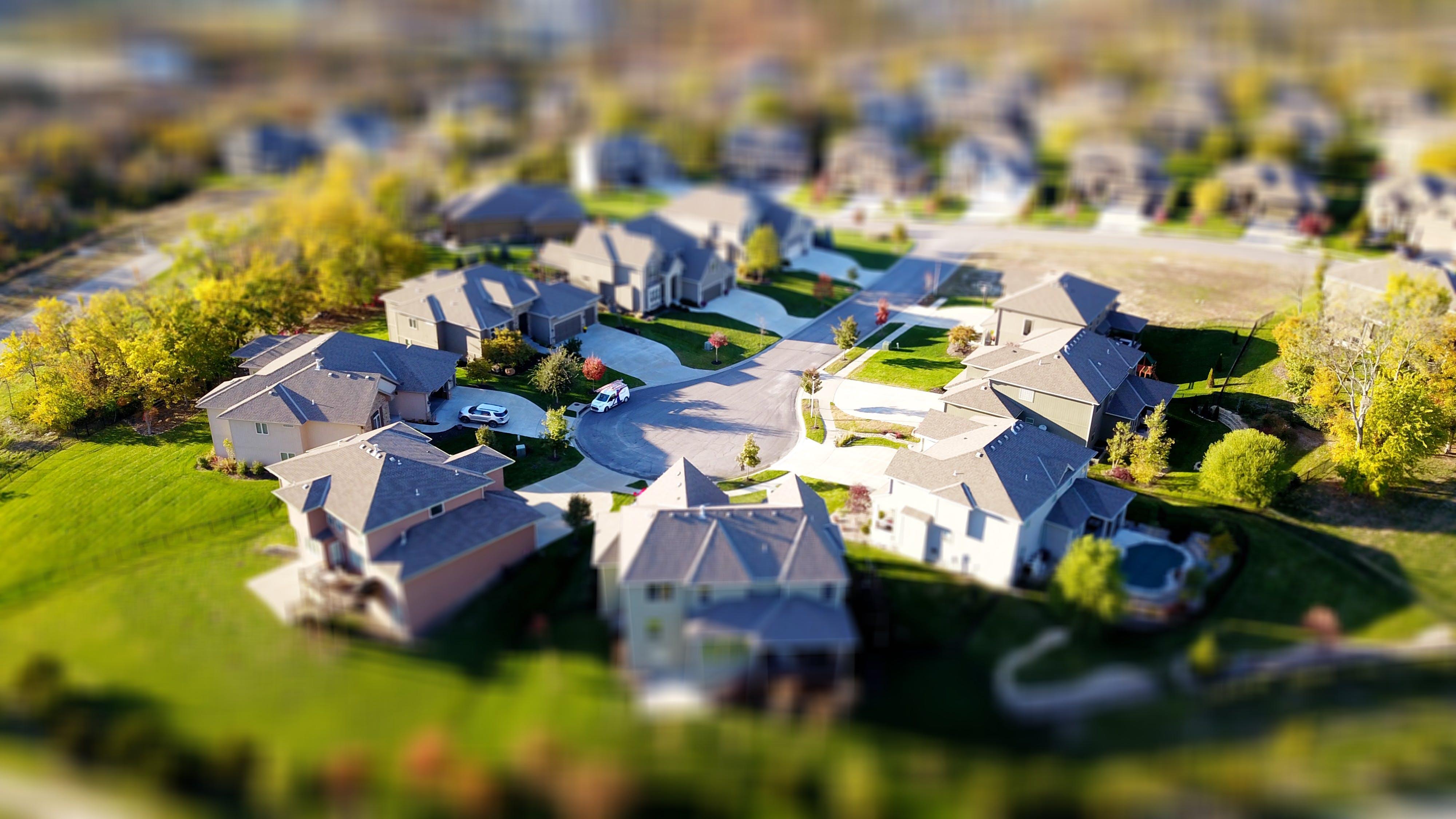 Free stock photo of houses, neighborhood, homes, real estate