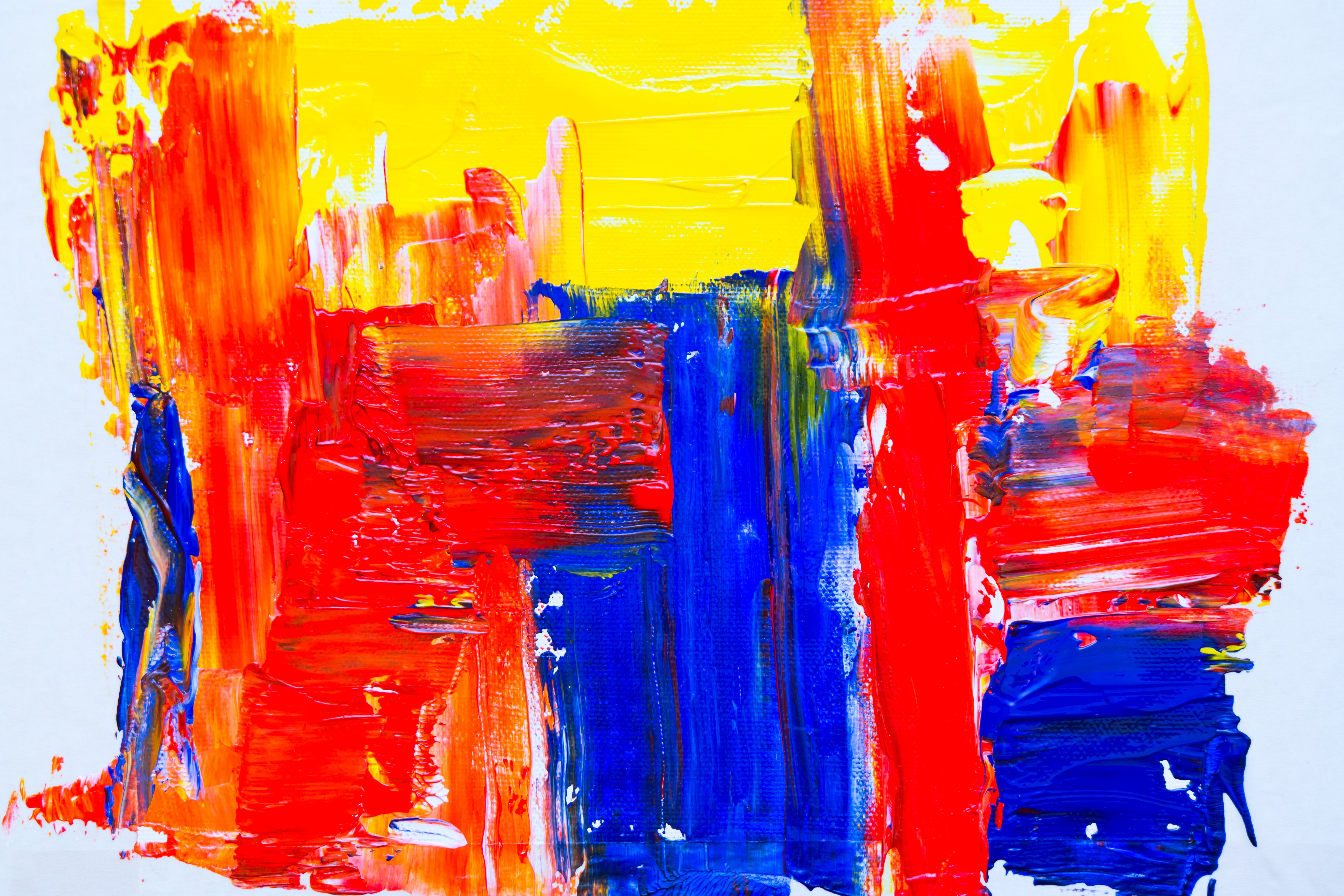 Photo of Colorful Abstract Painting