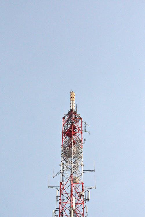 Fotos de stock gratuitas de acero, alto, antena, antena de telefonía móvil