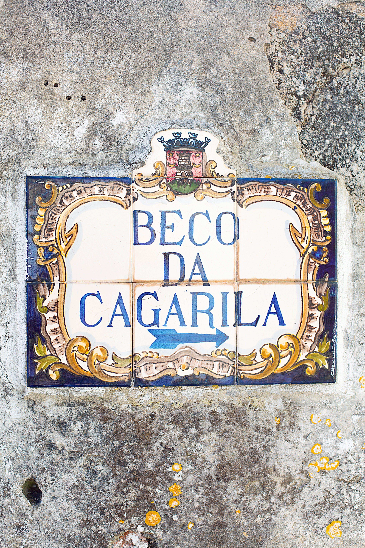 Beco Da Cagarila Painted Board