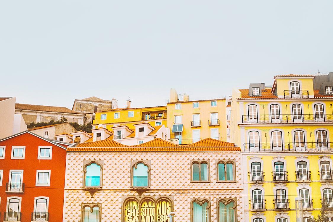 公寓, 城市, 城鎮