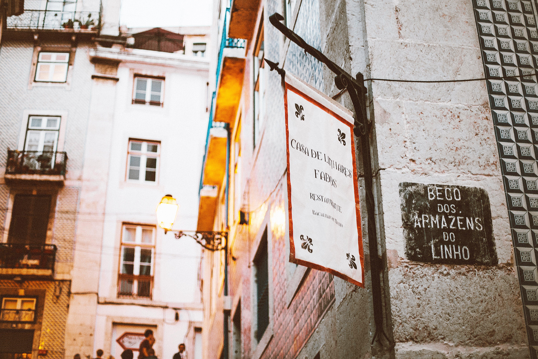 White Signage