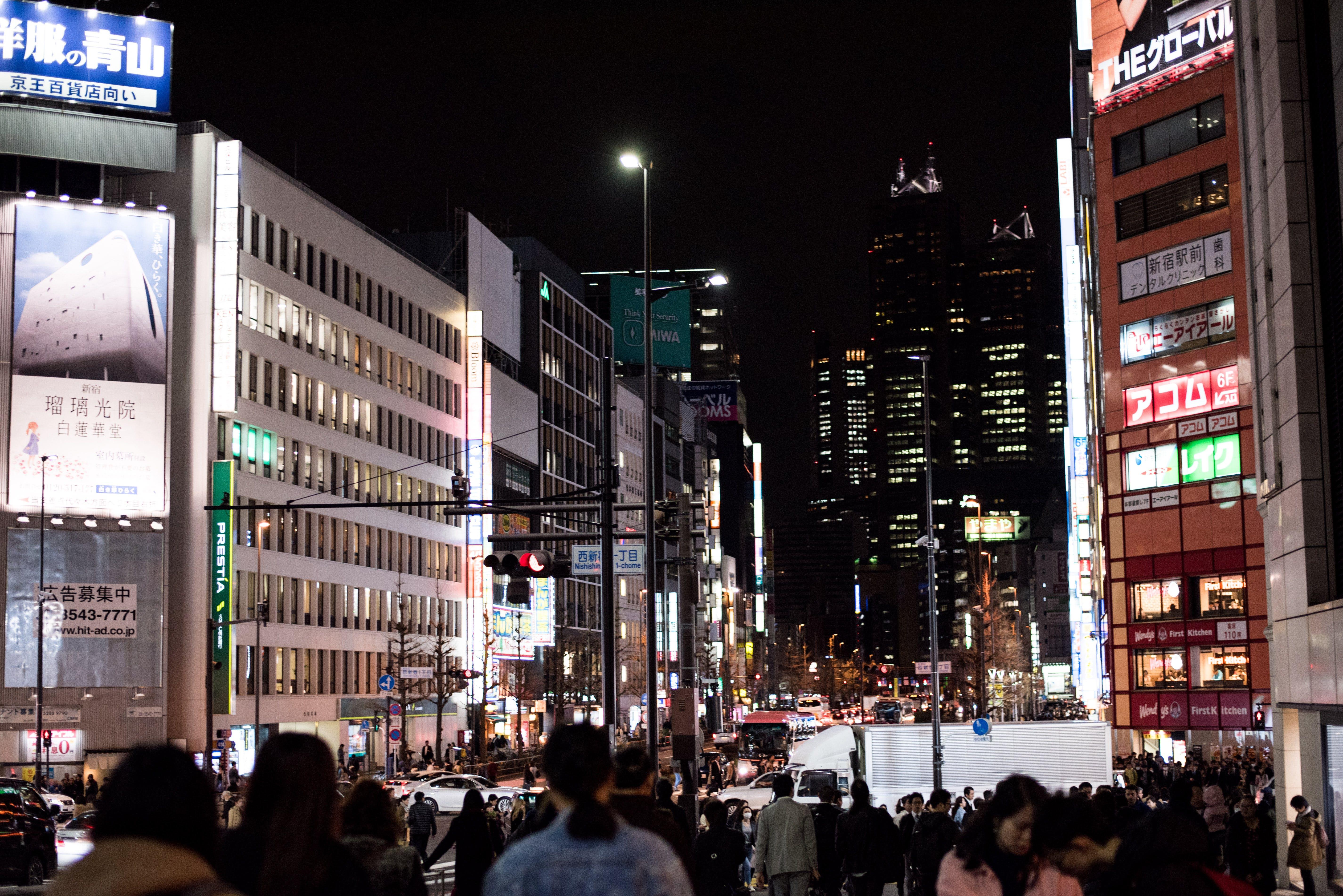 Foto d'estoc gratuïta de carrer, ciutat, edifici, gent