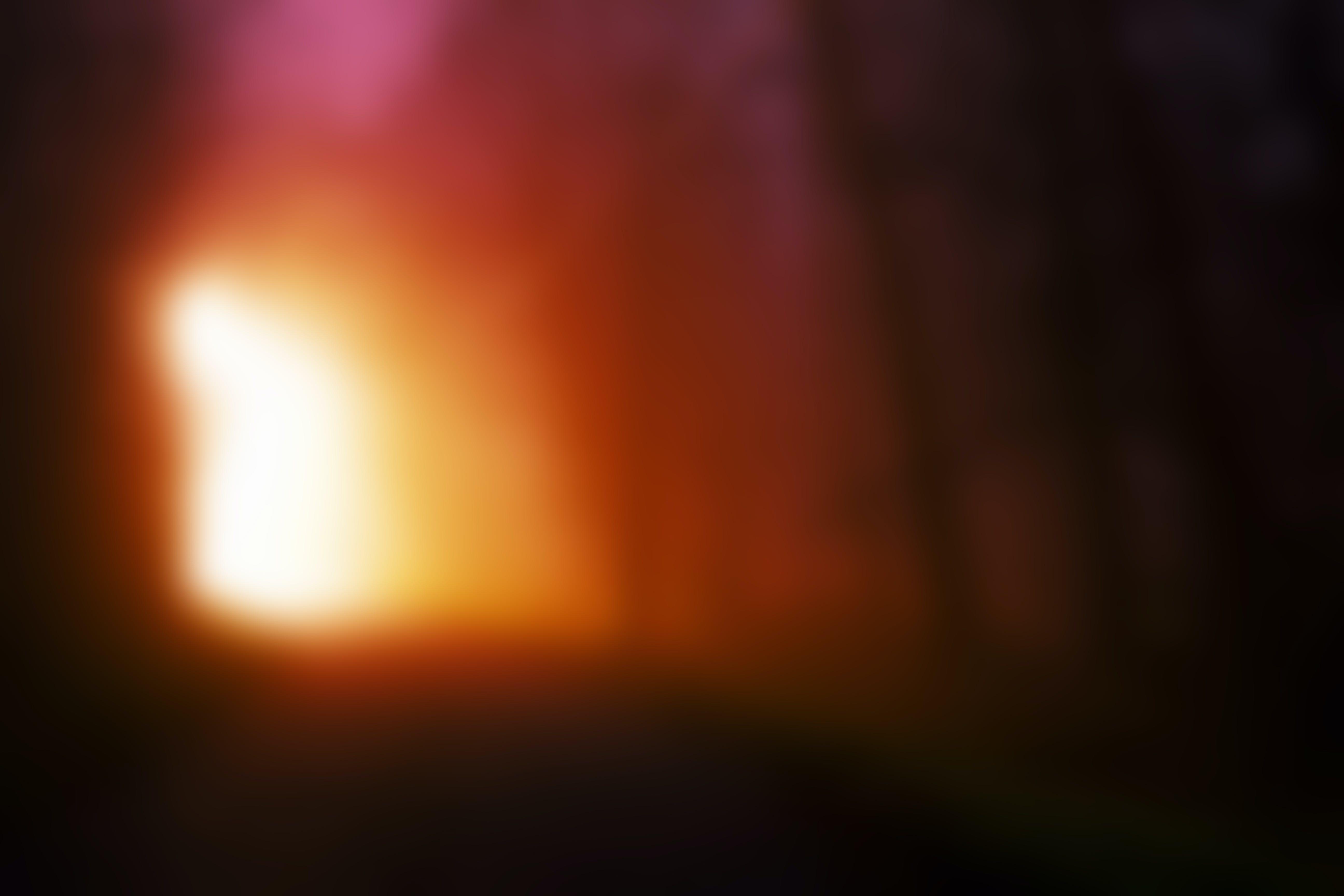 Dark Red Blurred Background
