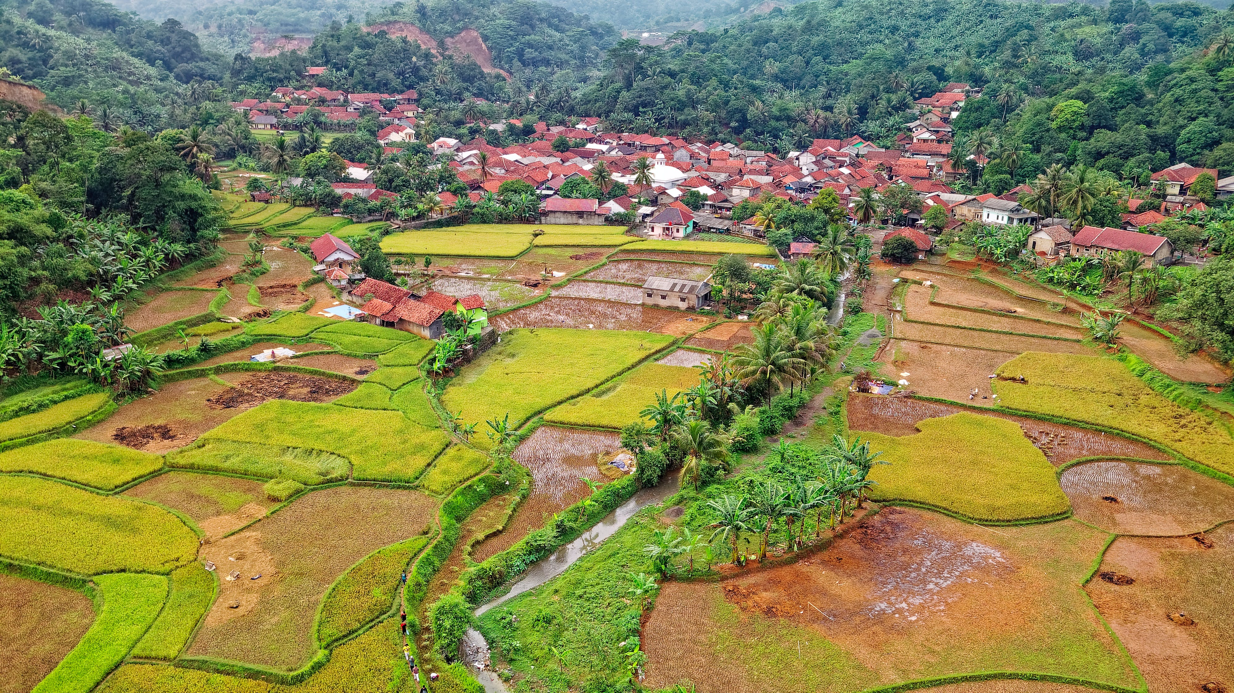 Village Aerial Photography