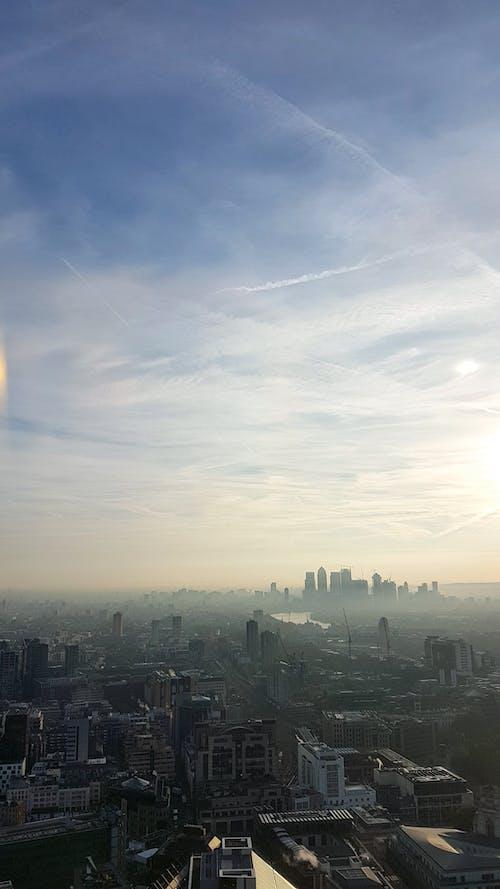 Vista Aérea De Los Edificios De La Ciudad