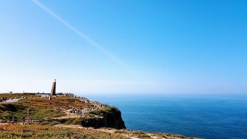 คลังภาพถ่ายฟรี ของ cabo da roca, กลางวัน, ขอบฟ้า, ข้าม