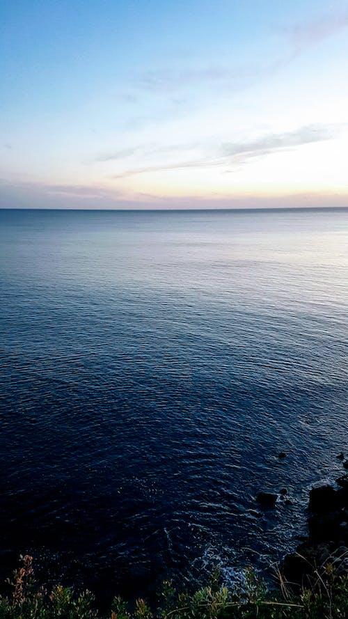 광활한, 구름, 물, 바다의 무료 스톡 사진