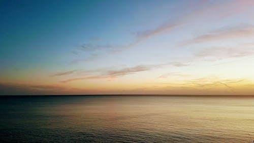 คลังภาพถ่ายฟรี ของ ขอบฟ้า, ทะเล, ท้องฟ้า, น้ำ