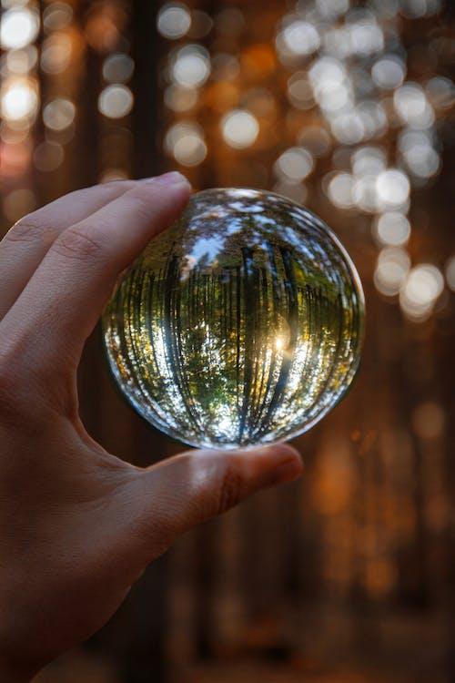 artigos de vidro, baile, bola