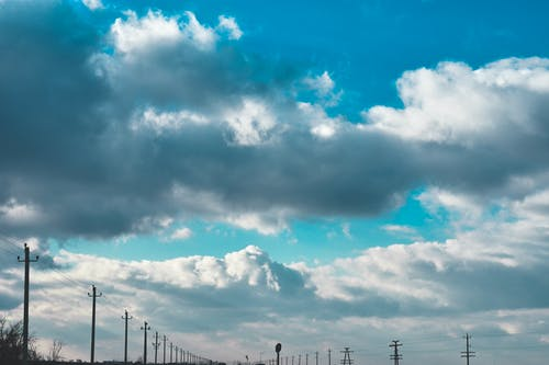 คลังภาพถ่ายฟรี ของ ท้องฟ้าครึ้ม