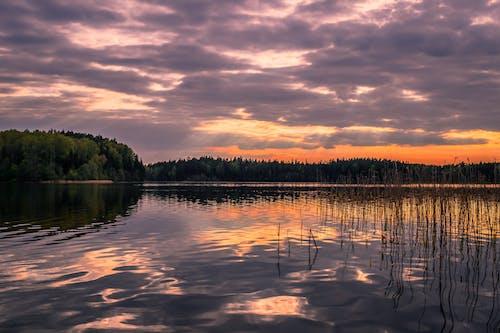 강, 경치, 경치가 좋은, 골든 아워의 무료 스톡 사진