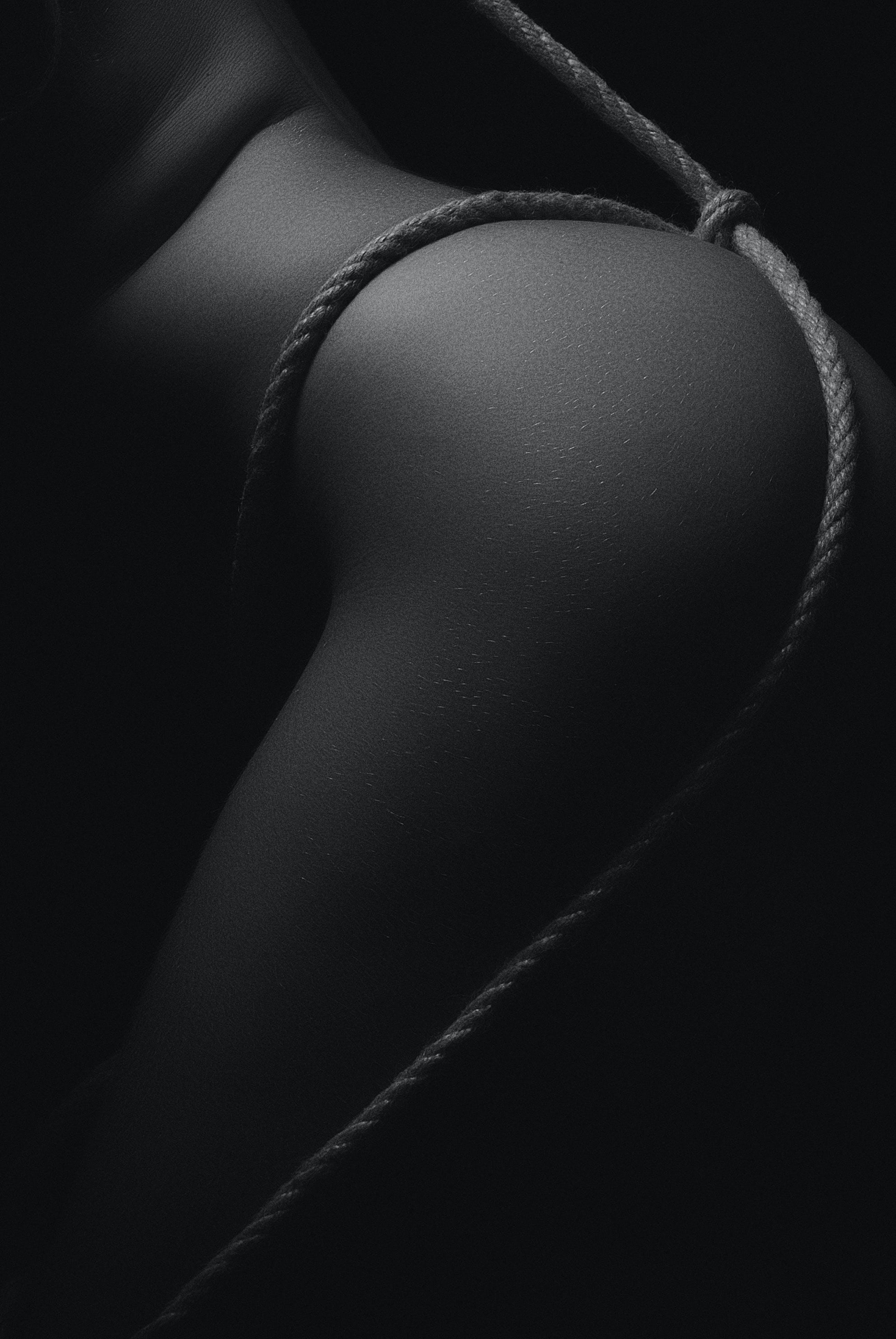 cilt, çıplak, erotik, Halat içeren Ücretsiz stok fotoğraf