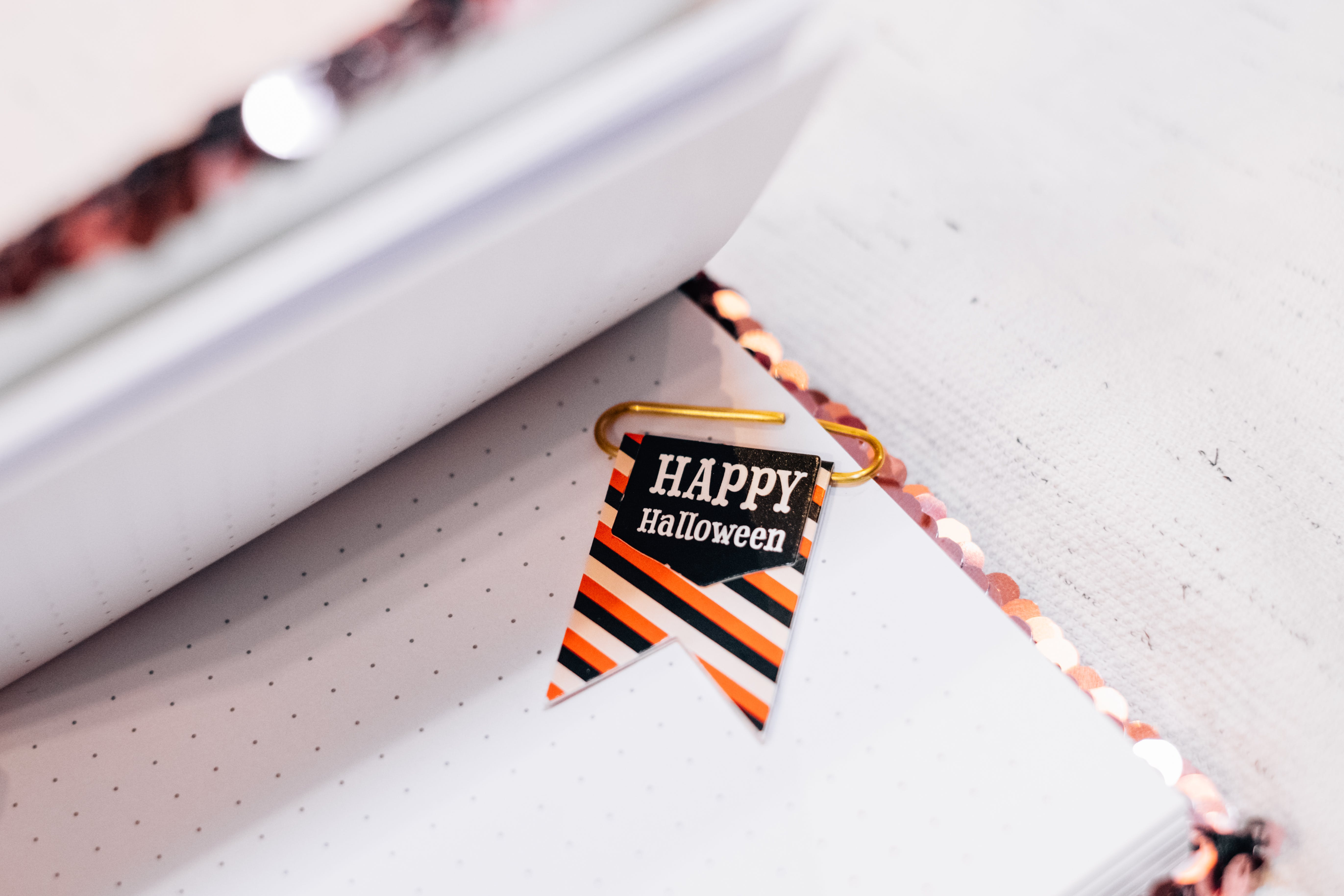 Happy Halloween Printed Paper