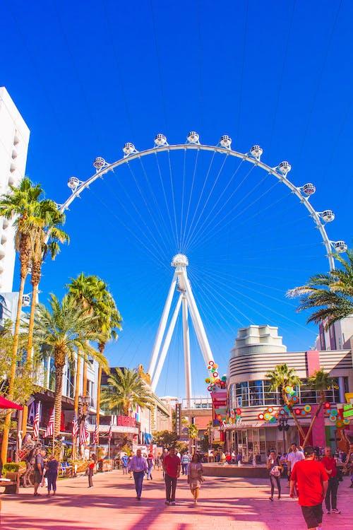 Free stock photo of ferris wheel, Las Vegas