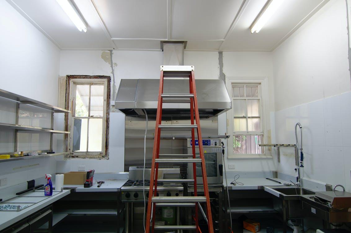 Free stock photo of kitchen, renovation