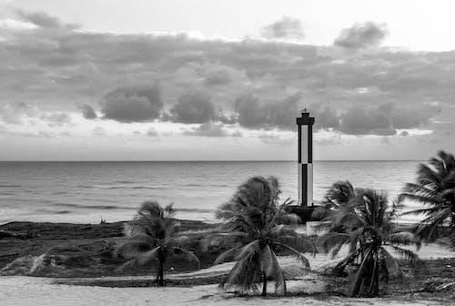 Foto stok gratis ha teluk panjang, hitam, long exposure, mercu suar