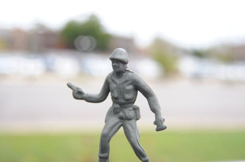 Free stock photo of army man