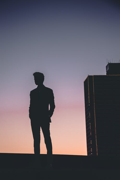 1000 Great Silhouette Man Photos Pexels Free Stock Photos
