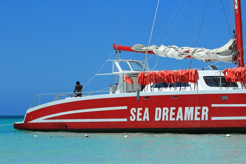 Free stock photo of blue sky, caribbean sea, jamaica