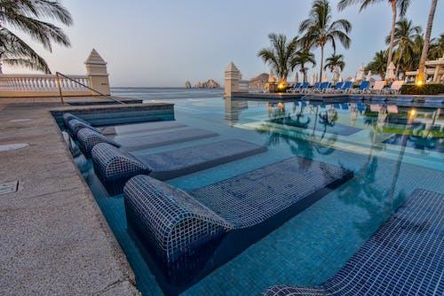 カボサンルーカス, スイミングプール, プールサイド, メキシコの無料の写真素材