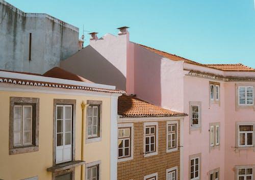 アパート, タウン, ドア, マンションの無料の写真素材