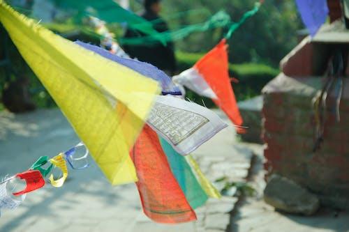Free stock photo of prayerflag, religion
