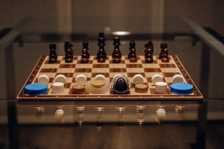 Gratis lagerfoto af skakbræt, økologi