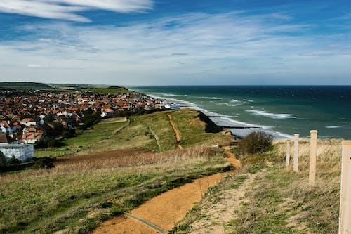 Kostenloses Stock Foto zu england, himmel, küste, landschaft