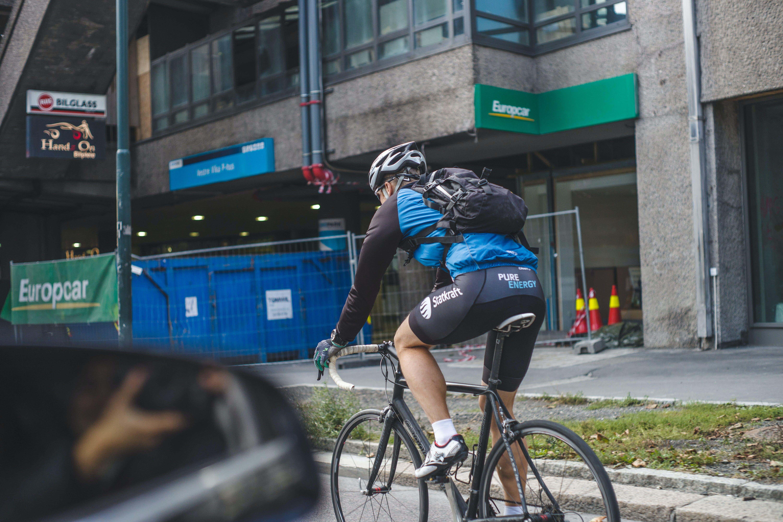 Free stock photo of bike rider, oslo, racing bike