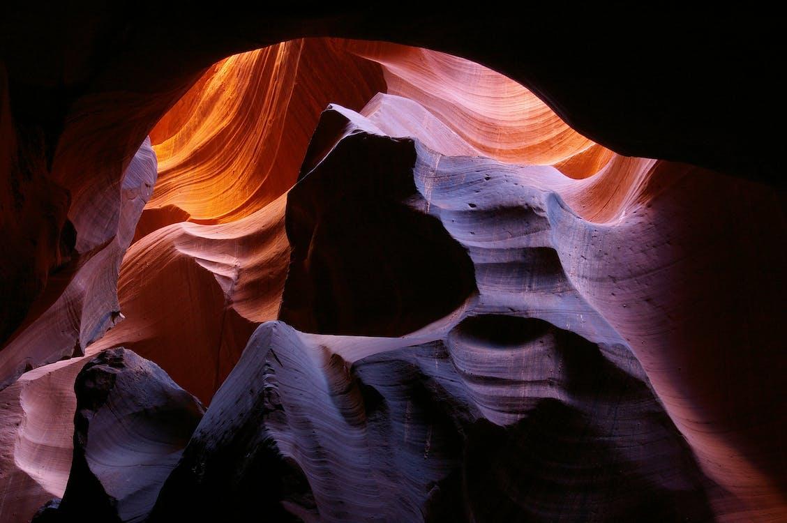 光, 光線, 岩石
