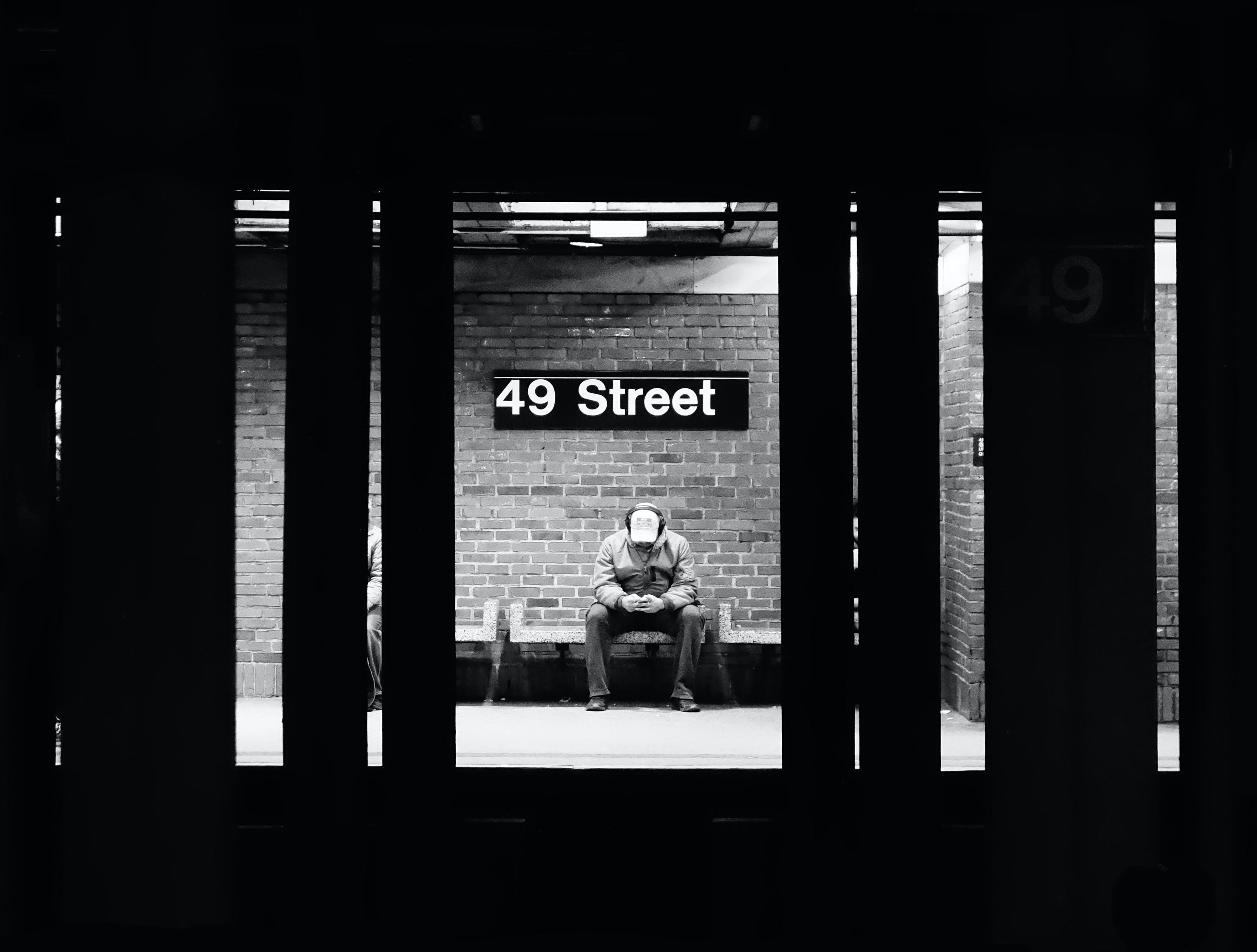 Kostenloses Stock Foto zu new york city, u-bahnsteig