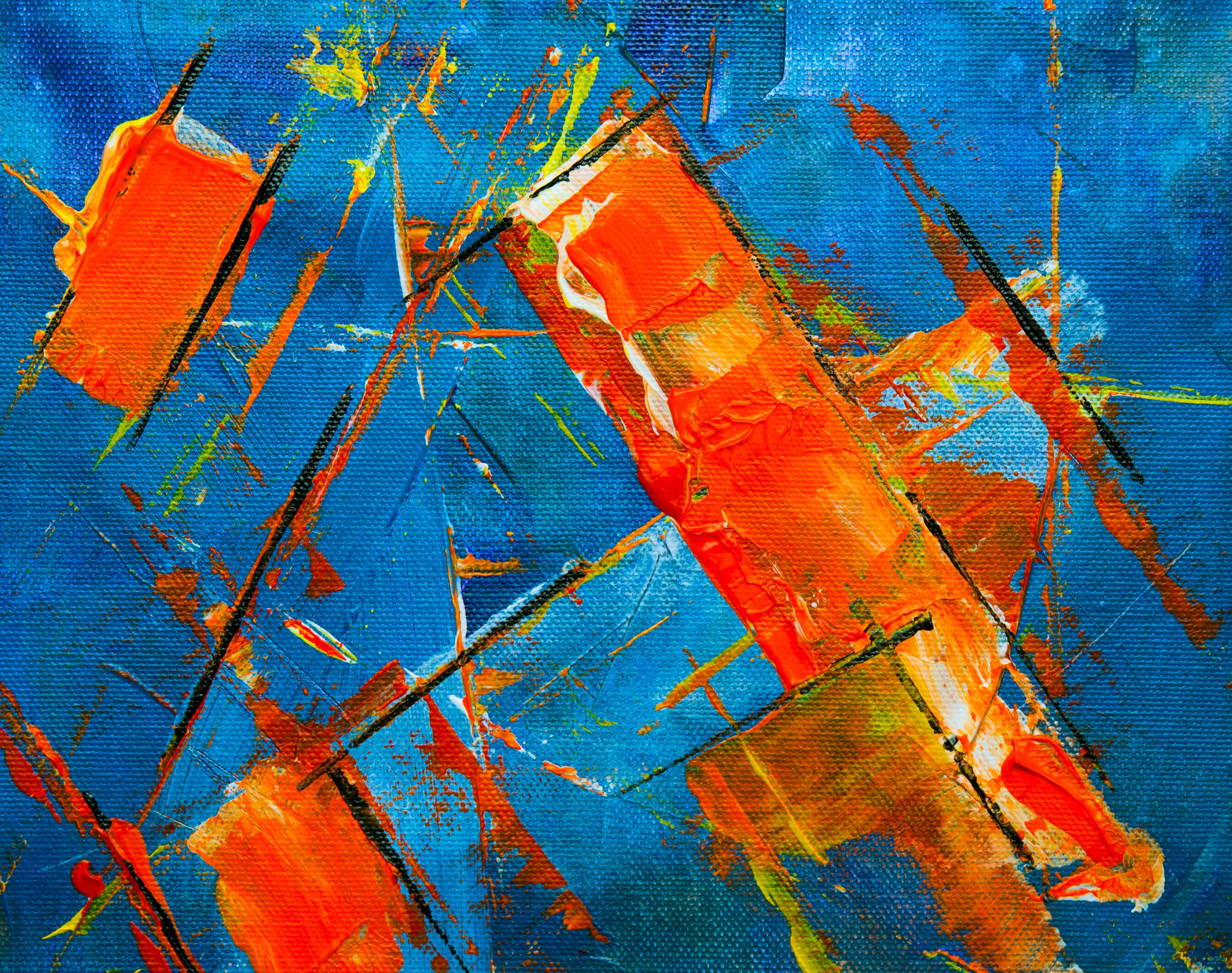 Free stock photo of art, creative, texture, painting