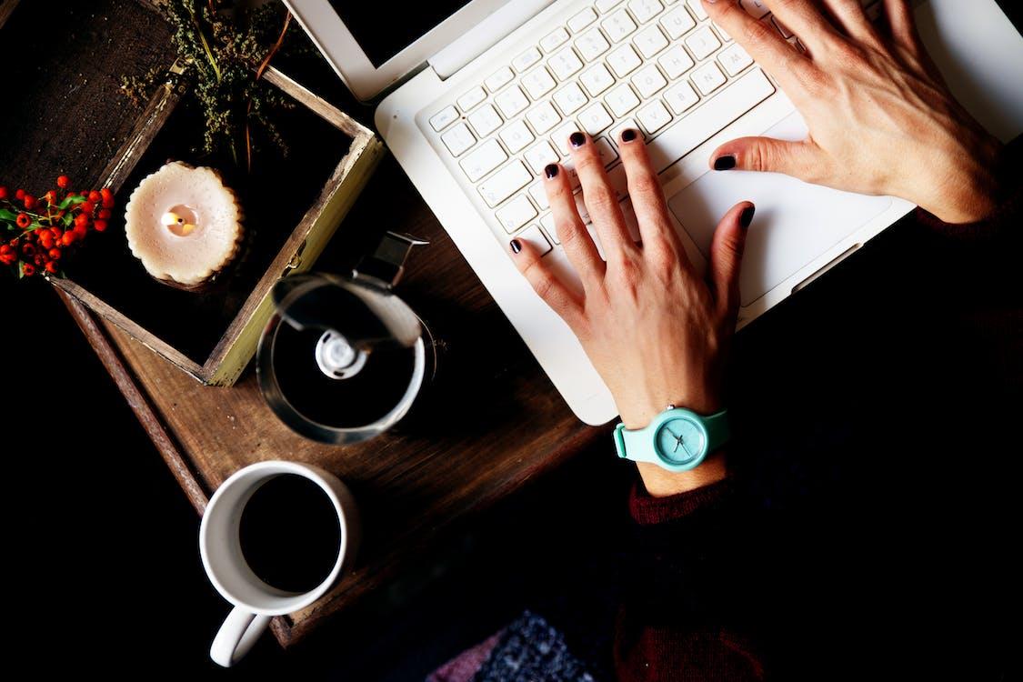 birou, cafea, cafea fiartă