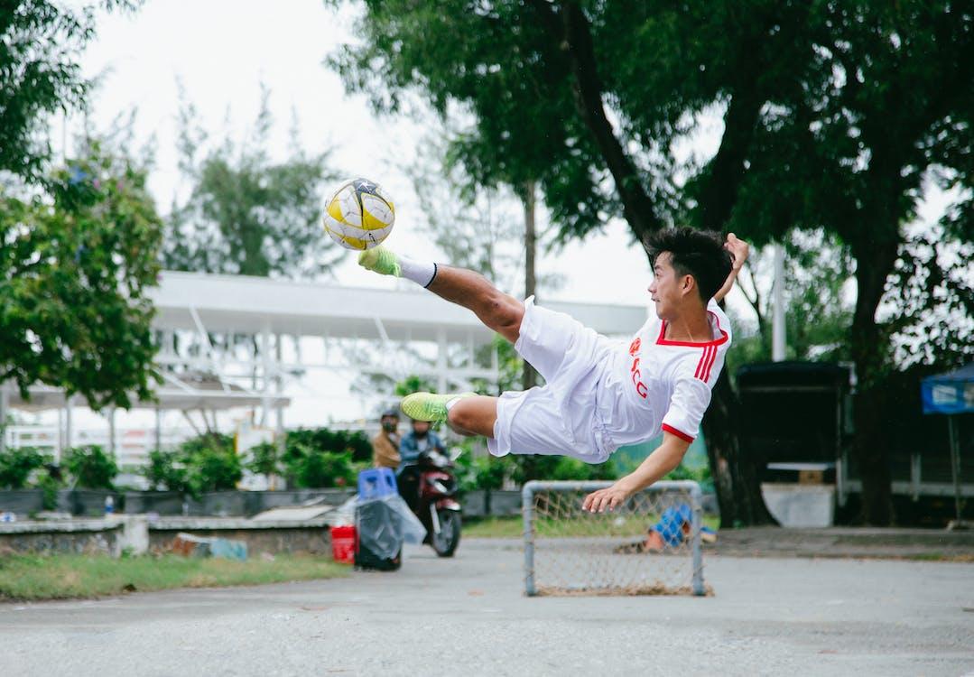 aktiv, asiatisk mand, atlet